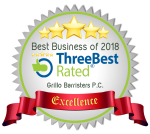 Grillo Barristers Best Business 2018