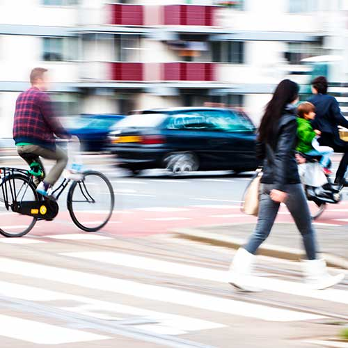 Pedestrians and cyclists be aware!  Opinion from a lawyer.